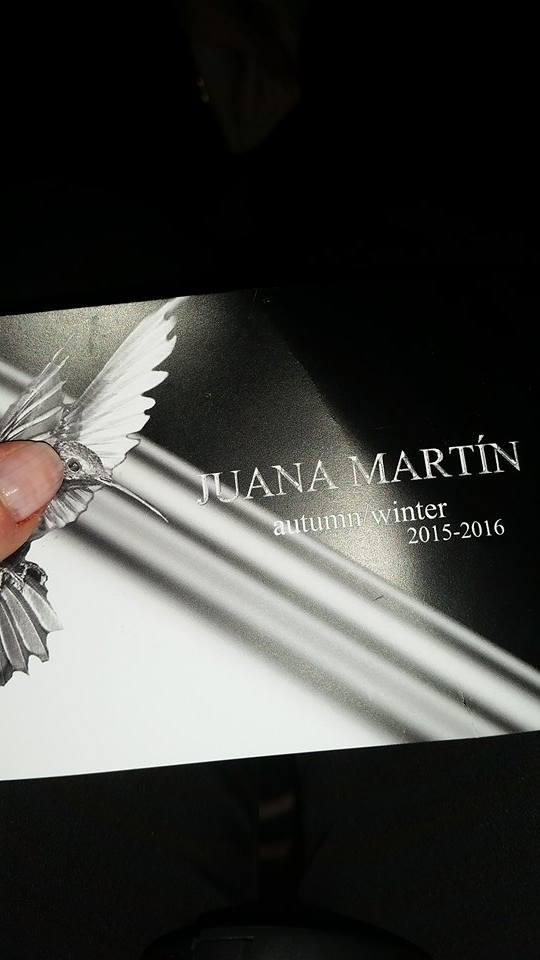 Desfile y kissing Juana Martín MBFWM15_11