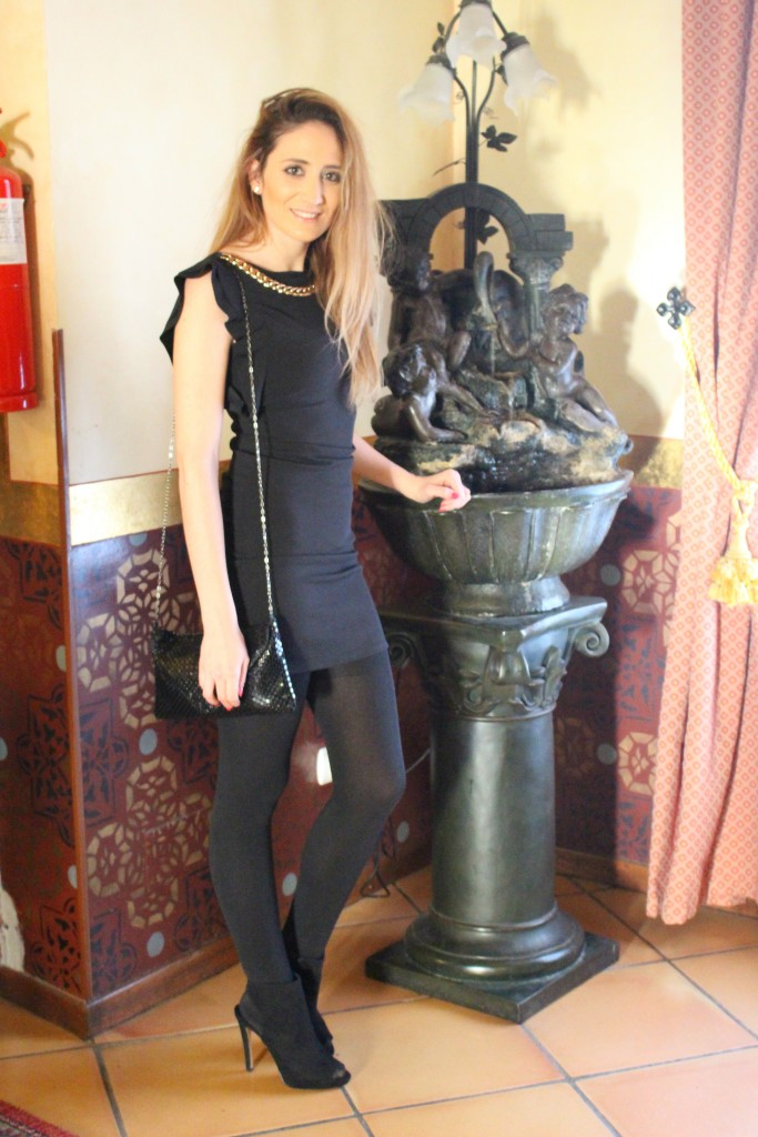 Vestido negro - Look Total Black 9