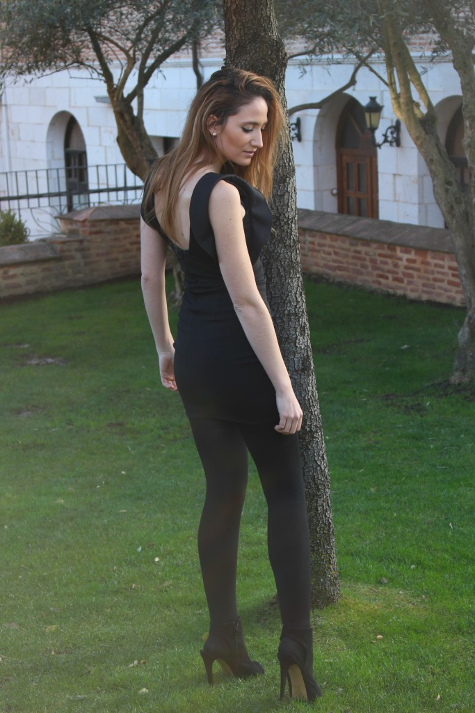Vestido negro - Look Total Black 7