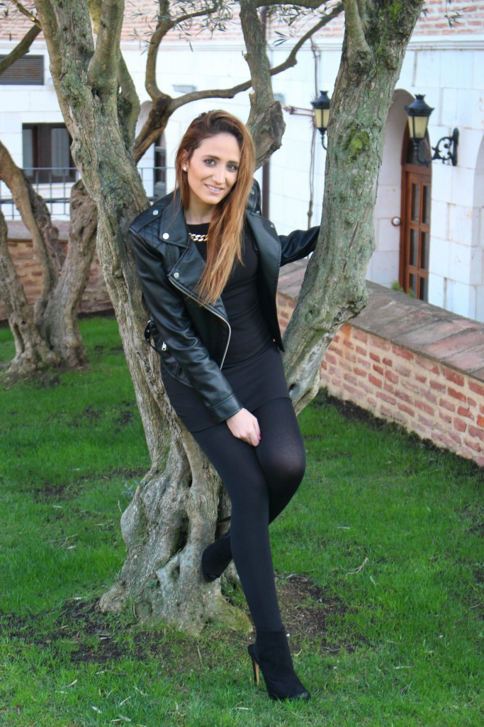 Vestido negro - Look Total Black 10