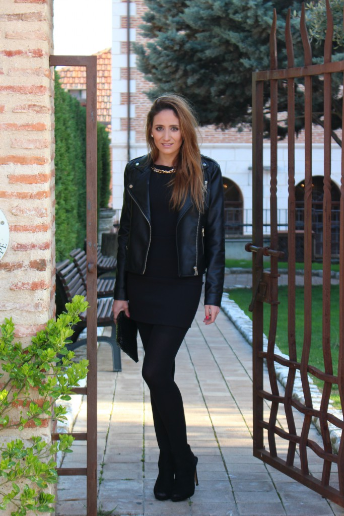 Vestido negro - Look Total Black 11