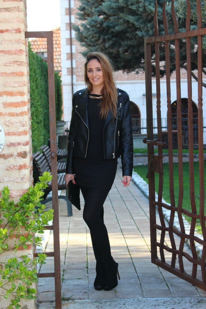 Vestido negro - Look Total Black 2