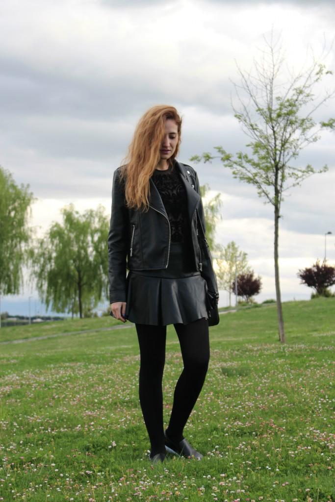 Color negro – Look