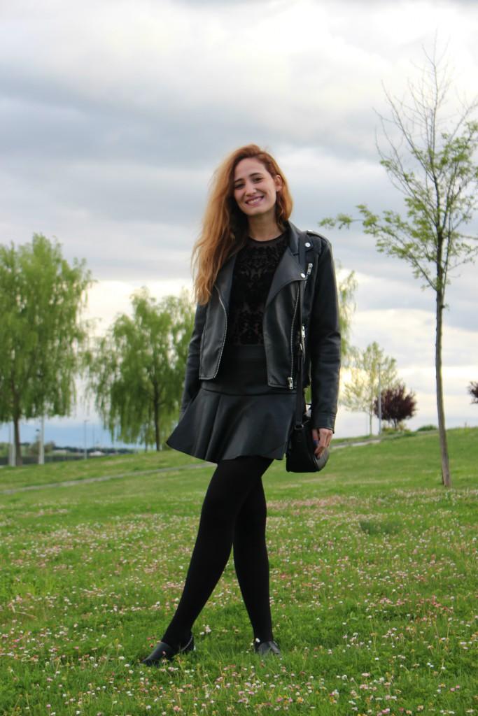 Color negro - Look 8