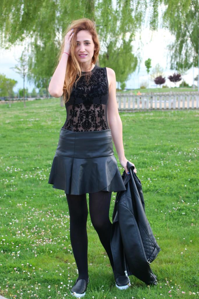 Color negro - Look 9