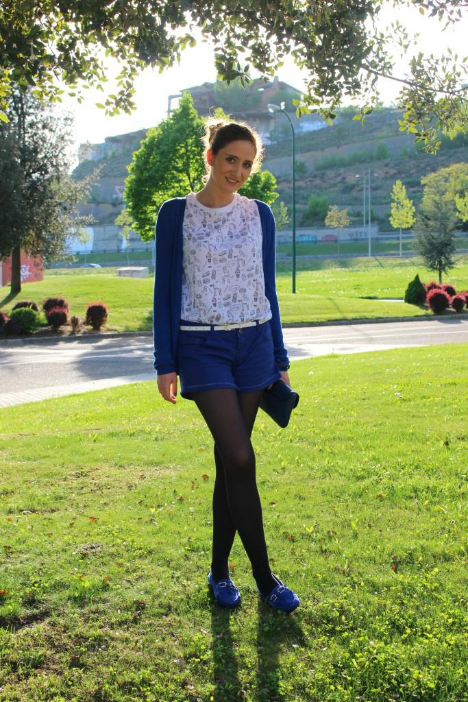 Azul - Look Casual 3
