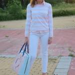 Rosa pastel - Look Preppy 1
