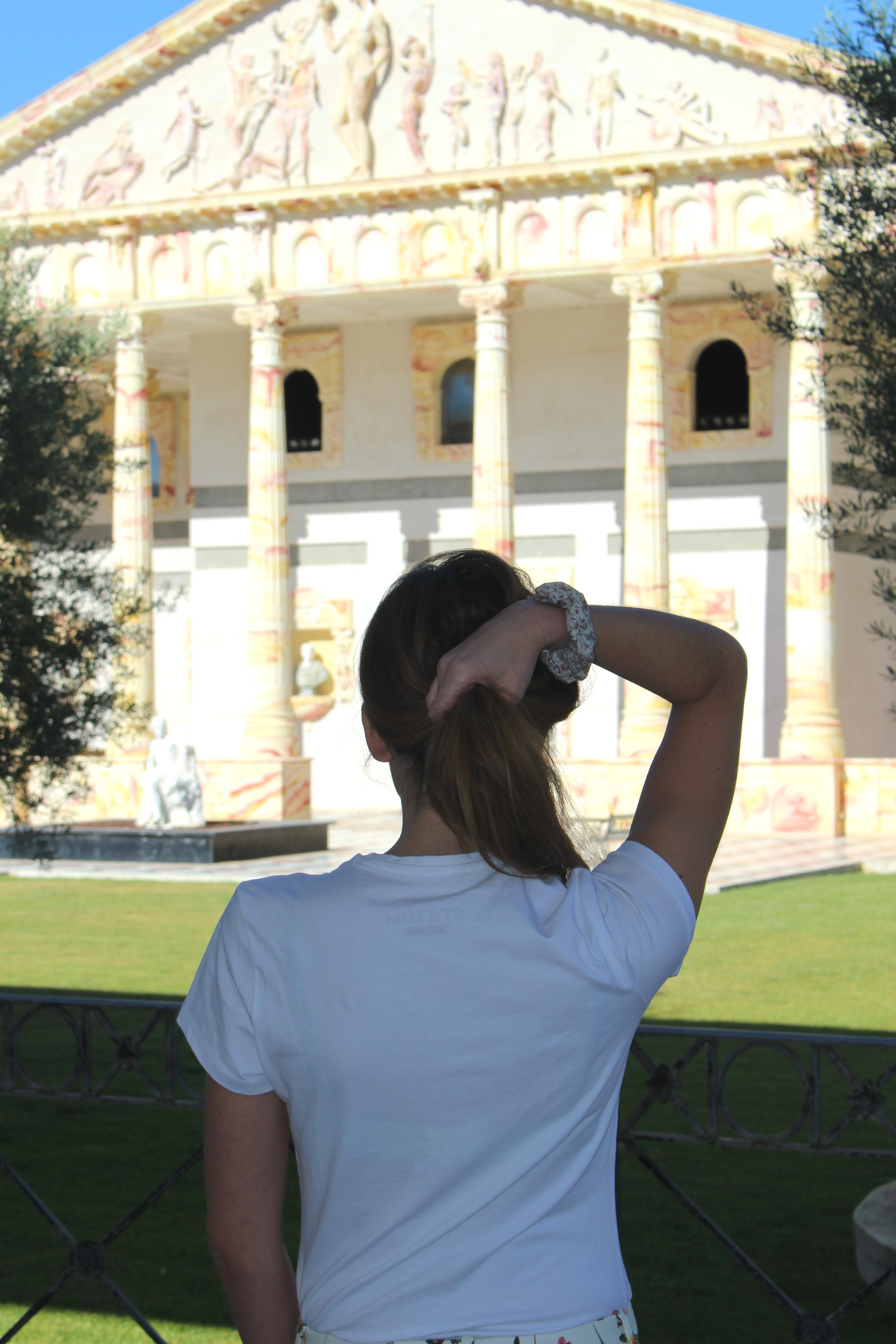 Estampados en un templo romano 5