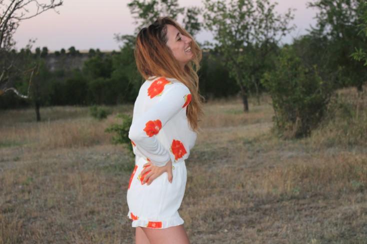 Mono floral – Look