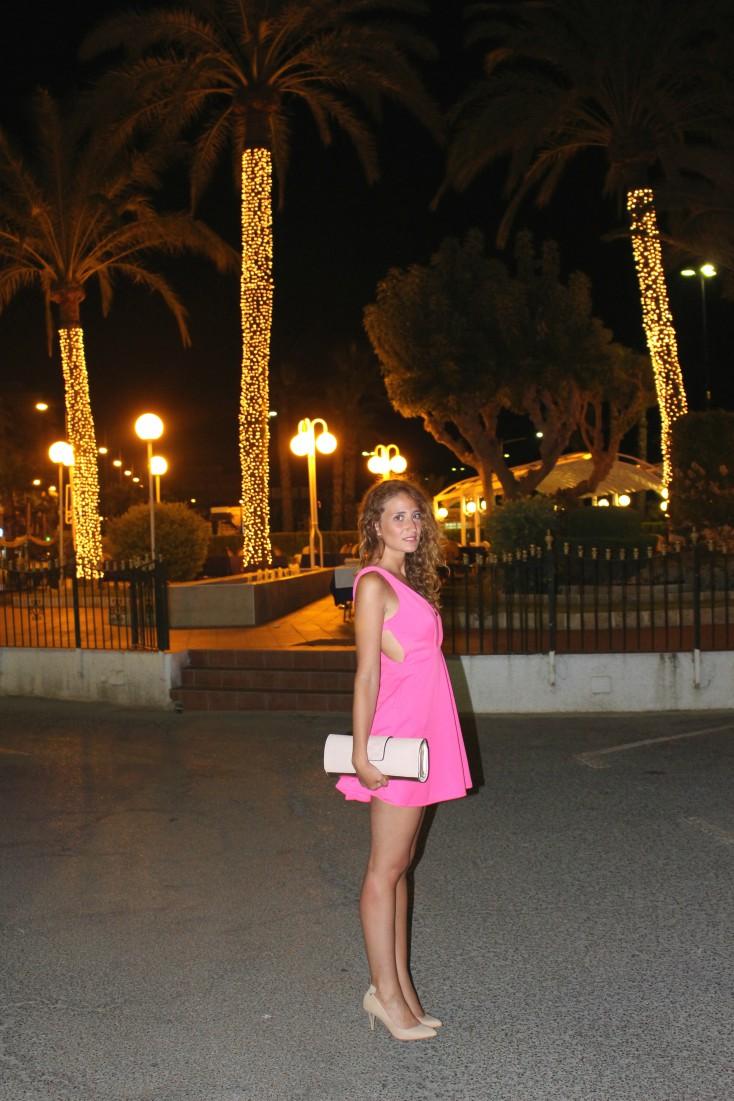 Total look rosa - Restaurante Batiste 4