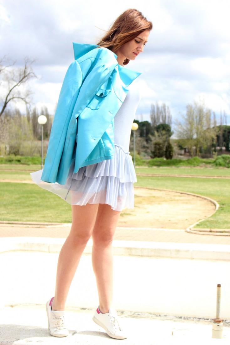 Azul serenity - Vestido tul 7