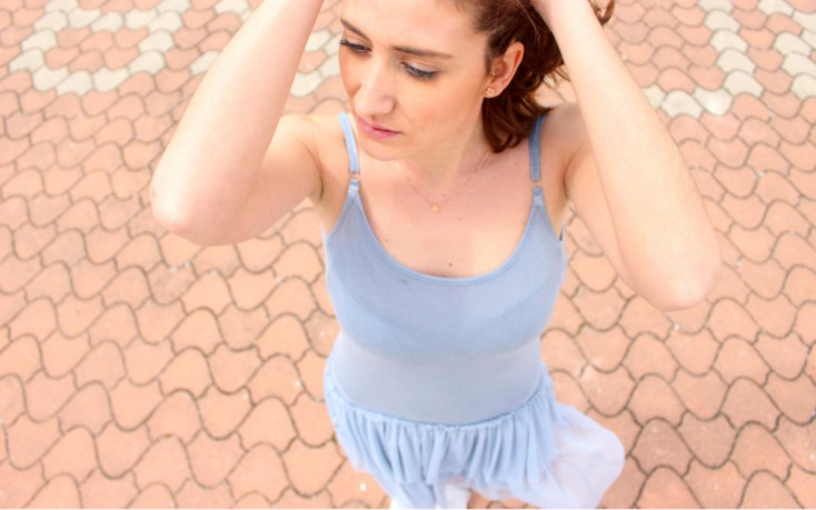 Azul serenity - Vestido tul 6
