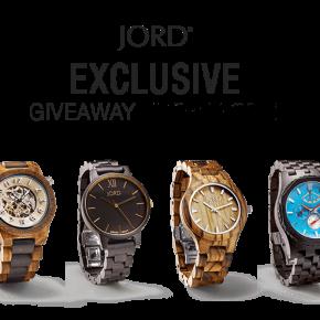 Sorteo JORD | Giveaway watch