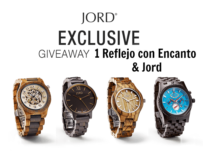 Sorteo JORD | Giveaway watch