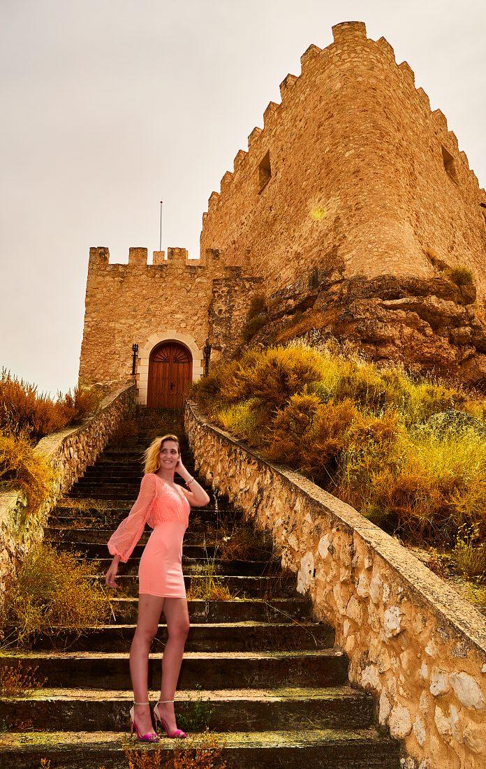Cuatro looks 1 - Vestido rosa